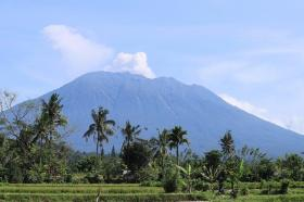 Mt Agung Volcano, Indonesia 2017